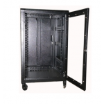 Cabinet 18U W600 D600 With Back Door S/bolted - RAL7021
