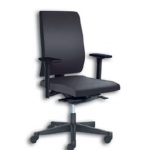 Chair Swivel Yeah W/Armrests Cloth Black