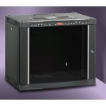 "NETBOX 16U 19"" Wall Curved Door W600mm D600 with LCD Thermometer"