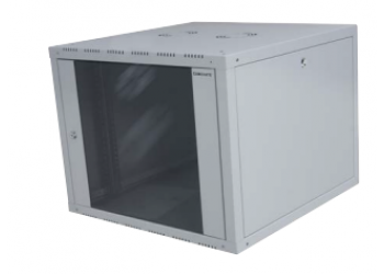 Cabinet Single Wallmount 12U 600x560mm W/Openable Side-9005