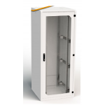 Cabinet 27U W600 D800 With Front & Rear Steel Doors