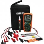 MultiMeter Kit Heavy Duty Industrial Extech EX505-K