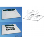 Cabinet Top Cover Miracel W600 D1000 Coolblast RAL7035