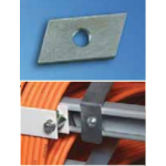 Threaded Plate 0.4 M5 20/Pkt For C Extrusion Rails