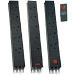 PDU 8Way Left Angled Vertical W/Surge 13A - 3m