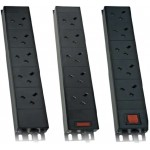 PDU 4Way Left Angled Vertical Unswitched
