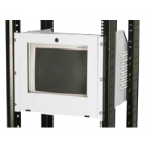 "Monitor Holder 9U 19""/15""/17""/500/20kgs - RAL7032"