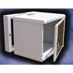 Cabinet 15U D550 Double Section - RAL7021