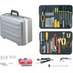 Jensen Tools JTK-17LHXP Kit in Gray Deep Deluxe Poly Case