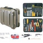 Jensen Tools JTK-17R Kit in Olive Rugged Duty Poly Case