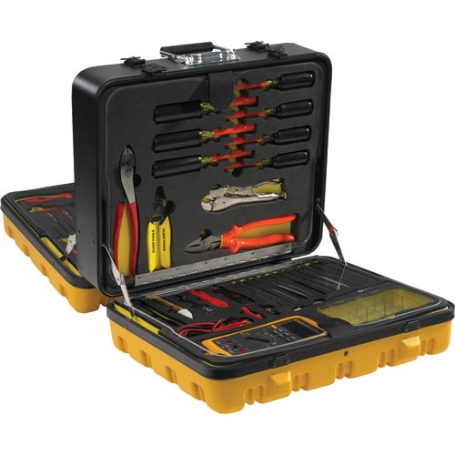 Outside Telephone Cable Repair Kit : Jensen tools jtc electrical maintenance tool kit