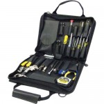 Jensen Tools JTK-10BK General Electronic Service Kit in Black Ballistic Nylon Case