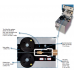 Microflow TOUCH for microfiber cables 0.8-5 mm