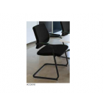 Visitor's Chair black dot Cantilever