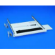 Keyboard Drawer + Mouse Surface 1U for Rack D900 RAL7035