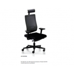 Control Room Chair Black Dot 24H