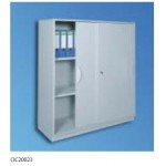 Wall-Standing Cabinet With Sliding Doors