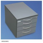 Standard model Mobile Drawer Unit Technical data
