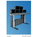 Knürr SynergyConsole® Sit-Stand Workstation