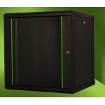 "PROLINE 20U 19"" Wall Mount Cabinet W=600mm D=600mm - Black"
