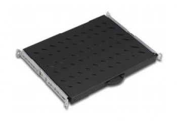 2U D=350mm 19'' Rack Mount  Shelf , 2 point fixing, for all cabinets at 19'' provision, Load Capacity 30 kg