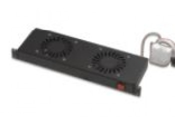 2 Fan Module Thermostat Switched Free Stand Open Type