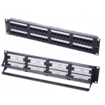 Patch Panel CAT6 1U 48Port UTP-IDC-PCB