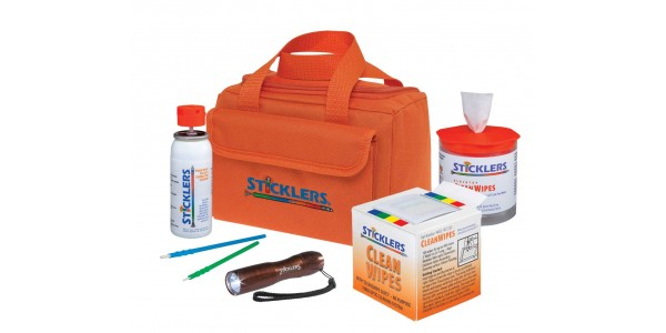 STICKLERS™ FIBER OPTIC CLEANING KIT — STARTER KIT