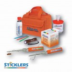 STICKLERS™ HEAVY-DUTY FIBER OPTIC CLEANING KIT