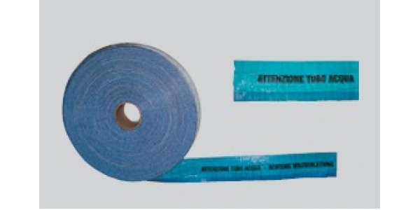 Warning tape made from cloth