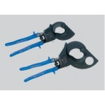 Manual jack shears for allumium and copper cables