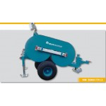 Hydraulic tensioners for overhead lines stringing
