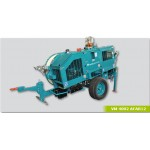 Hydraulic tensioners-puller for overhead lines stringing