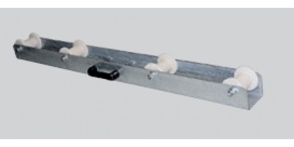 Cable Drum unreeling frame with teflon rollers