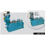 Hydraulic cable laying winches