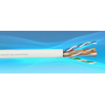 Cable Internal 4Pr UTP Cat6A 23AWG 0.565mm PVC-305m/Roll