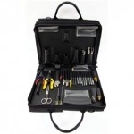 Tool Kit Lan Zipper W/o Test Equip - Black Cordura (100-47