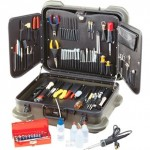 Tool Kit Electronic Technician's In Rugged Duty Poly Case