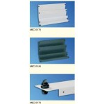 Blank Panel 1U Quick Fix - RAL7035 - (6/set)