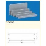 Blank Panel 2U Screwable 3/set - RAL7035