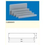 Blank Panel 3U Screwable (2/set) - RAL7035
