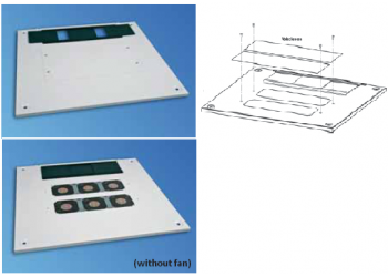 Cabinet Top Cover Miracel W800 D800 Coolblast RAL7021