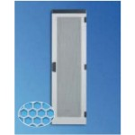 Door Rear Hexagonal For 41U W600 Server Cabinet RAL7035