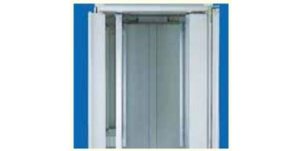 Front Panel Hinged 41U For Miracel - 2/set - RAL7035