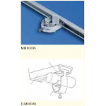 U Clamps for Cable Management, Range 8-12mm (25pc/pkt)
