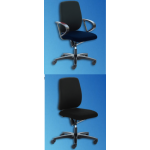 Chair Concept One Swivel With ARM, Black Fabric