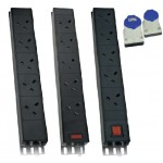 PDU 24Way Left Angled Vertical Unswitched - 16A