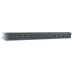 PDU 24 Way Vertical Mount 20xC13+4xC19 IEC 3m Lead 32A Plu