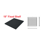 Shelf Fix 1U D700mm For D800 Cabinet - 50Kgs
