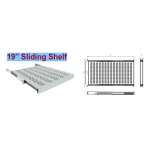 Shelf Sliding 1U D600 35Kgs